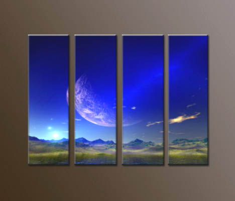 Modern Oil Paintings on canvas abstract painting -set10047