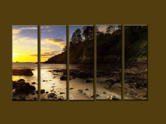 Modern Oil Paintings on canvas seascape painting -set10222