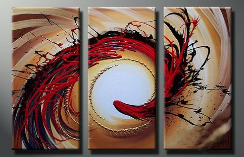 Modern Oil Paintings on canvas abstract painting -set12011