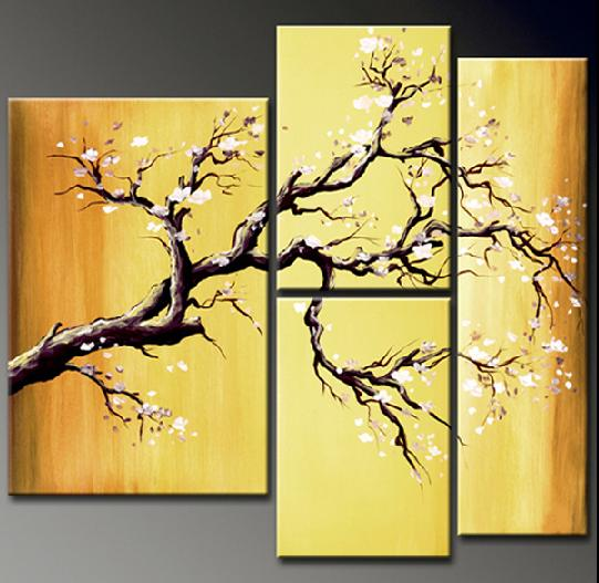 Modern Oil Paintings on canvas abstract painting -set12025