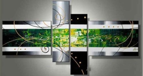 Modern Oil Paintings on canvas abstract painting -set12045