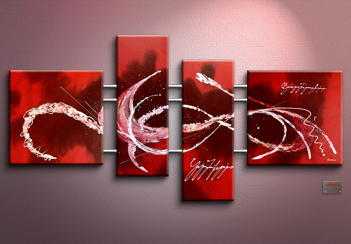 Modern Oil Paintings on canvas abstract painting -set12053