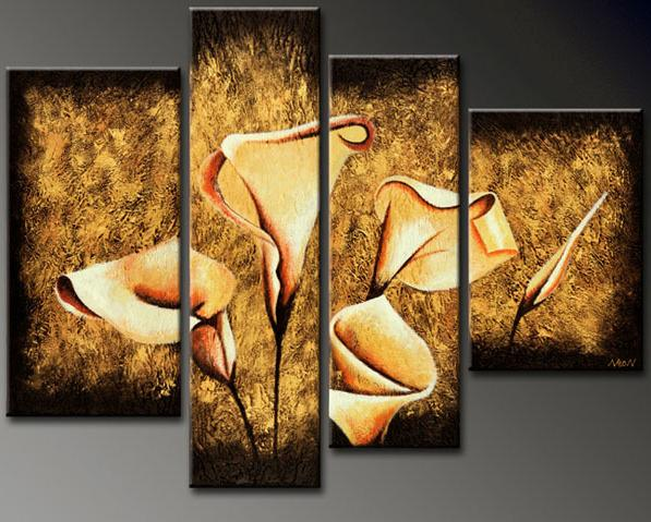 Modern Oil Paintings on canvas abstract painting -set12056