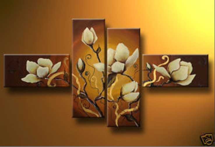 Modern Oil Paintings on canvas abstract painting -set12068
