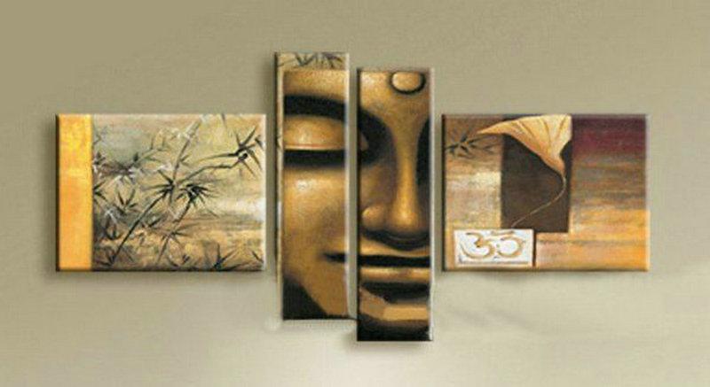 Contemporary zen art Buddha painting Buddha003