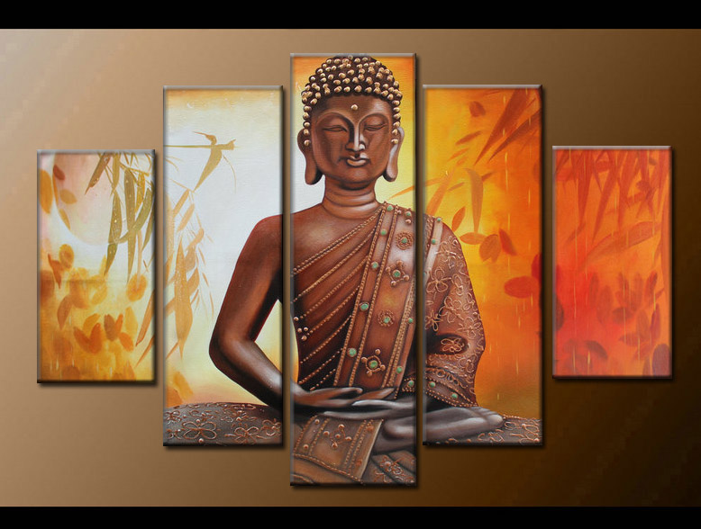Contemporary zen art Buddha painting Buddha004