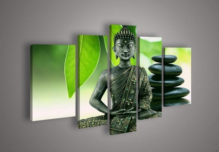Contemporary zen art Buddha painting Buddha010