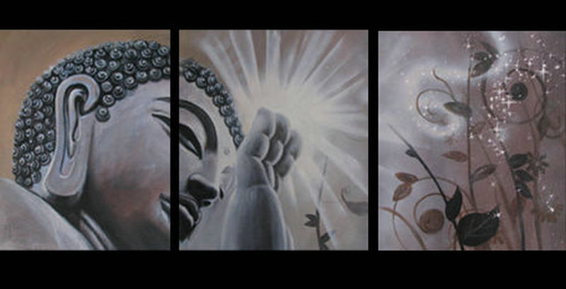 Contemporary zen art Buddha painting Buddha015