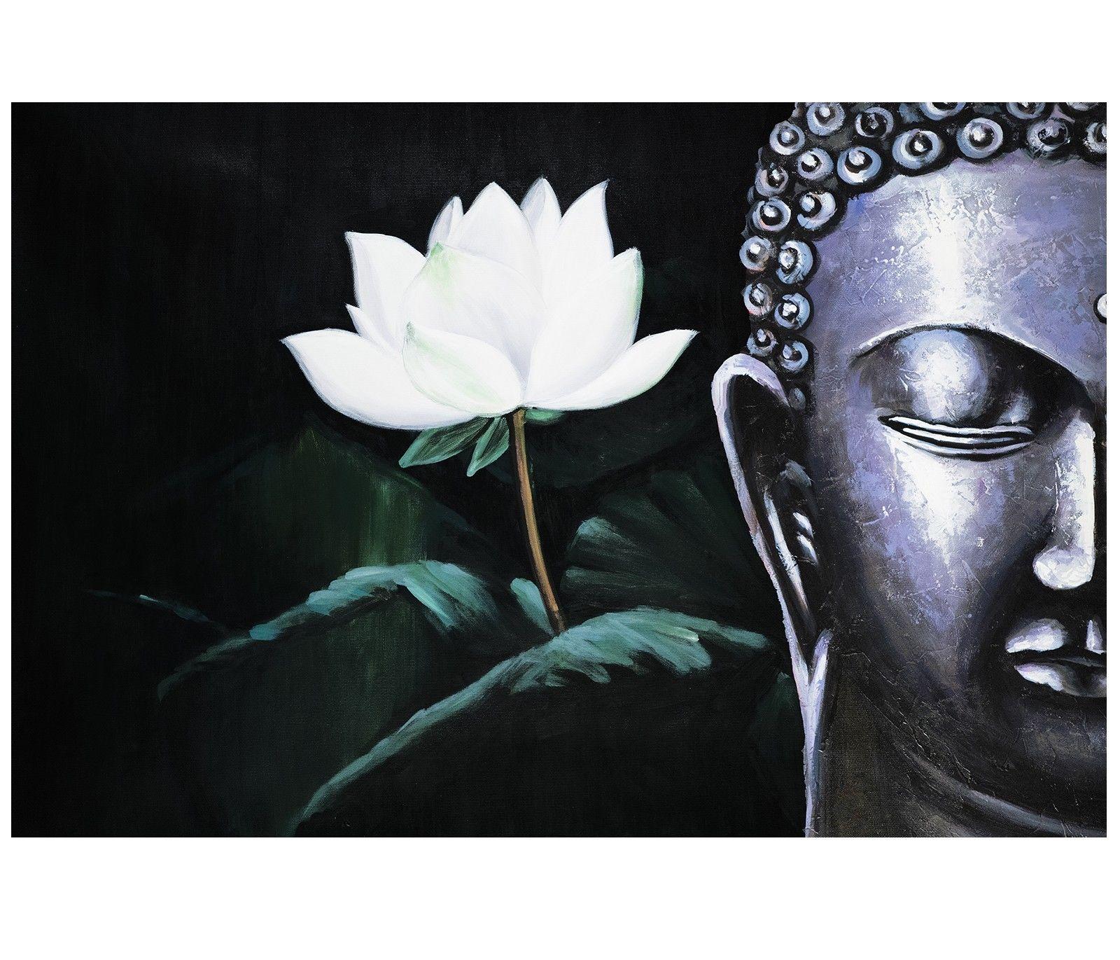 Contemporary zen art Buddha oil painting Buddha019 ...