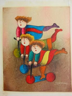 Dafen Oil Painting on canvas -child54