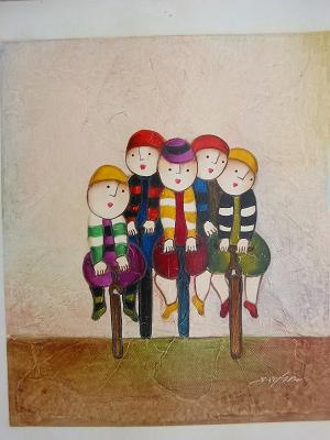 Dafen Oil Painting on canvas -child57