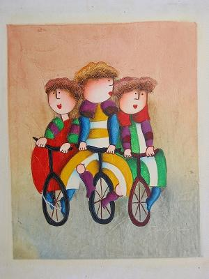 Dafen Oil Painting on canvas -child58