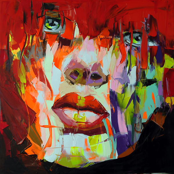Francoise Nielly Oil Painting