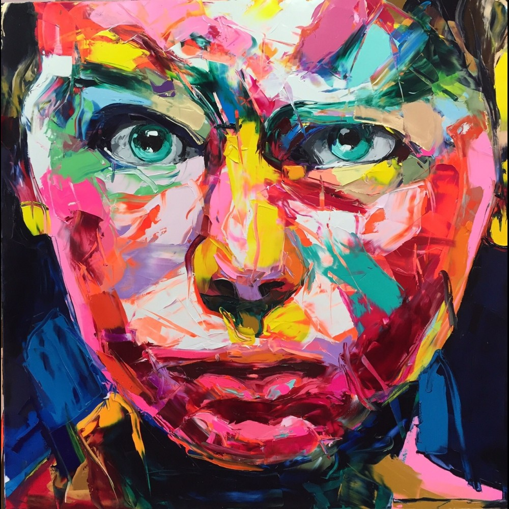 Francoise Nielly Portrait Palette Painting Expression Face109