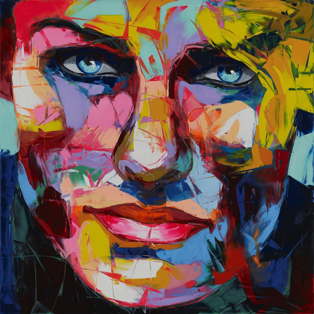 Francoise Nielly Portrait Palette Painting Expression Face123