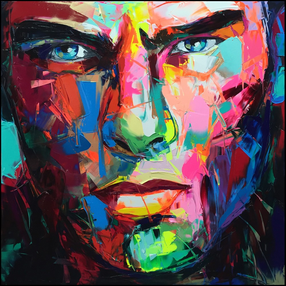 Francoise Nielly Portrait Palette Painting Expression Face211