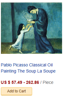 Pablo Picasso Classical Oil Painting Mother And Child Mere E...