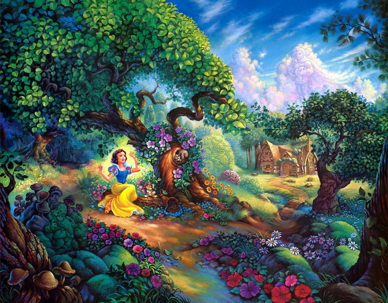 Thomas Kinkade Oil Painting