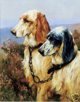 Dafen Oil Painting on canvas -dog001