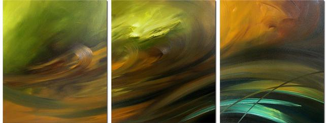 Dafen Oil Painting on canvas abstract -set020