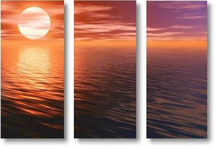 Dafen Oil Painting on canvas sunglow -set031