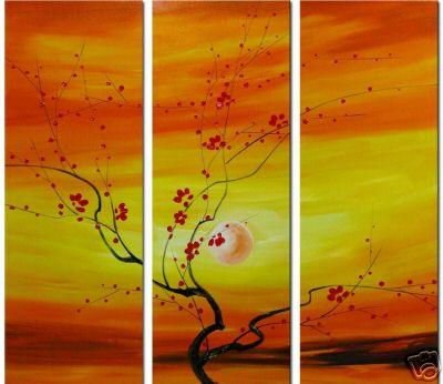 Dafen Oil Painting on canvas flower paintings -set035
