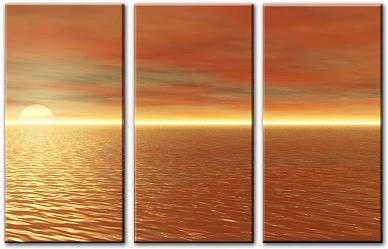 Dafen Oil Painting on canvas seascape -set053