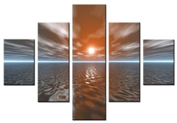 Dafen Oil Painting on canvas seascape -set062