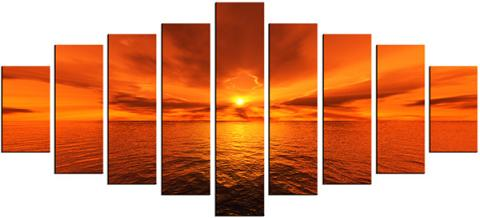 Dafen Oil Painting on canvas seascape -set064