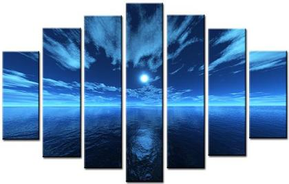 Dafen Oil Painting on canvas seascape -set065