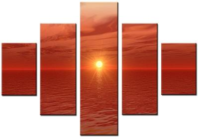 Dafen Oil Painting on canvas seascape -set072