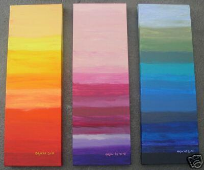 Dafen Oil Painting on canvas abstract -set092