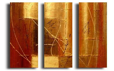 Dafen Oil Painting on canvas abstract -set110