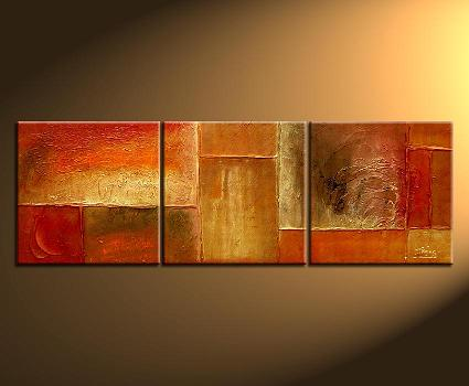Dafen Oil Painting on canvas abstract -set113
