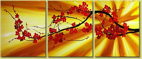 Dafen Oil Painting on canvas flower -set117