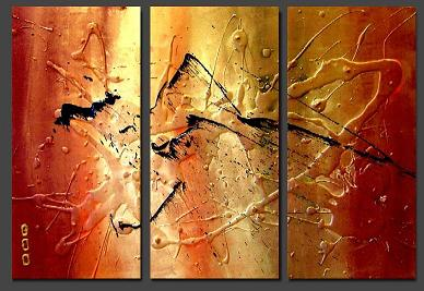 Dafen Oil Painting on canvas abstract -set121