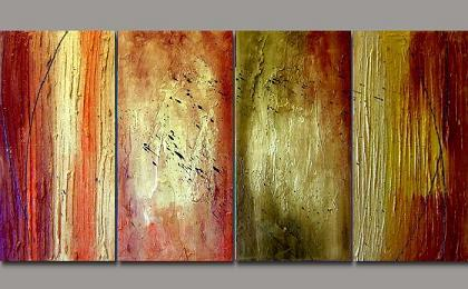 Dafen Oil Painting on canvas abstract -set122