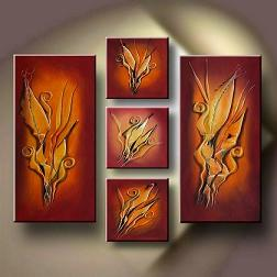 Dafen Oil Painting on canvas abstract -set134