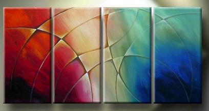 Dafen Oil Painting on canvas abstract -set135