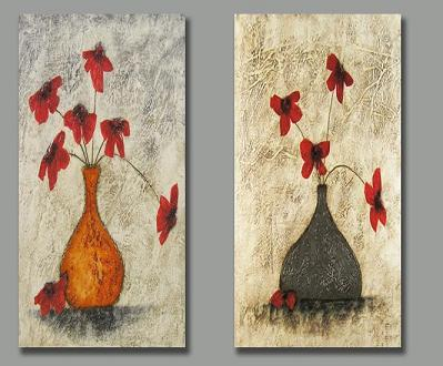 Dafen Oil Painting on canvas flower -set147