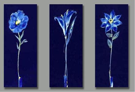 Dafen Oil Painting on canvas the flower -set155
