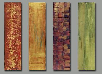 Dafen Oil Painting on canvas abstract -set173