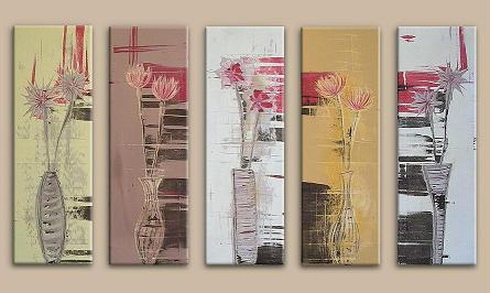 Dafen Oil Painting on canvas abstract -set177