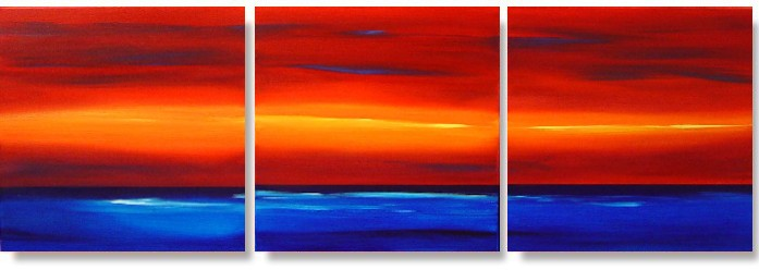 Dafen Oil Painting on canvas sunglow -set193