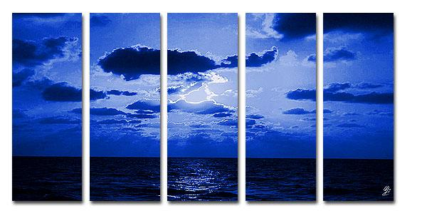 Dafen Oil Painting on canvas seascape painting -set202