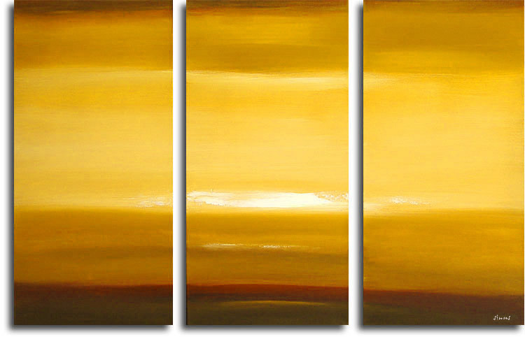 Dafen Oil Painting on canvas sunglow -set204