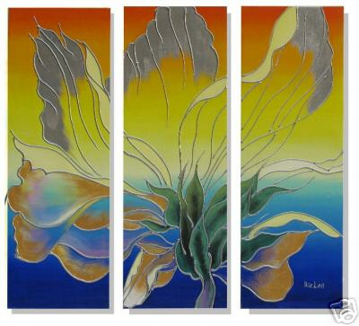 Dafen Oil Painting on canvas flower -set230