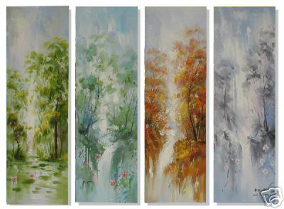 Dafen Oil Painting on canvas abstract -set231
