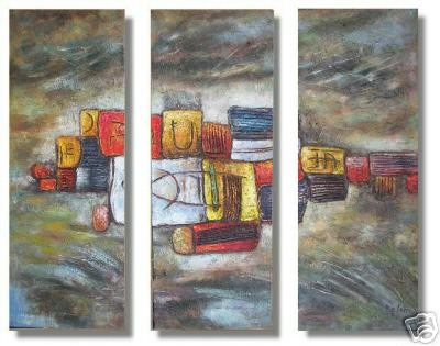 Dafen Oil Painting on canvas abstract -set236