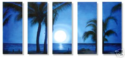 Dafen Oil Painting on canvas seascape painting -set238